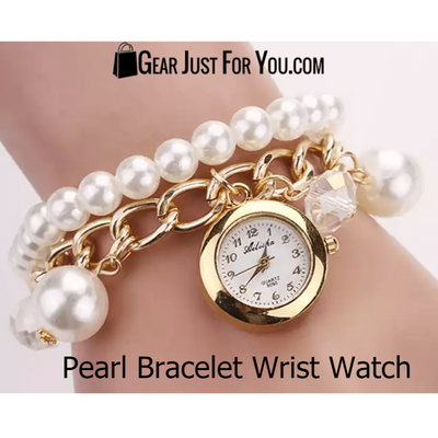 Authentic Pearl Bracelet Watch - Gear Just For You.com