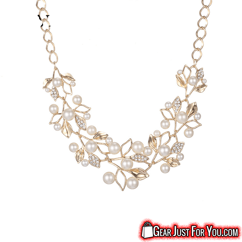 plated with amazing olive leaves necklace necklaces gold