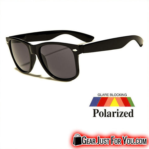 Image of New Polarized Wayfarer Retro Sunglasses For Unisex Fashion - Gear Just For You.com