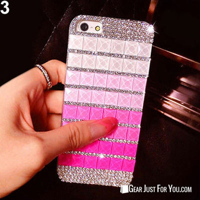 Luxury Womens Bling Rhinestone Skin Case Cover For iPhone 6 6 Plus - Gear  Just 8a3e58fbc1