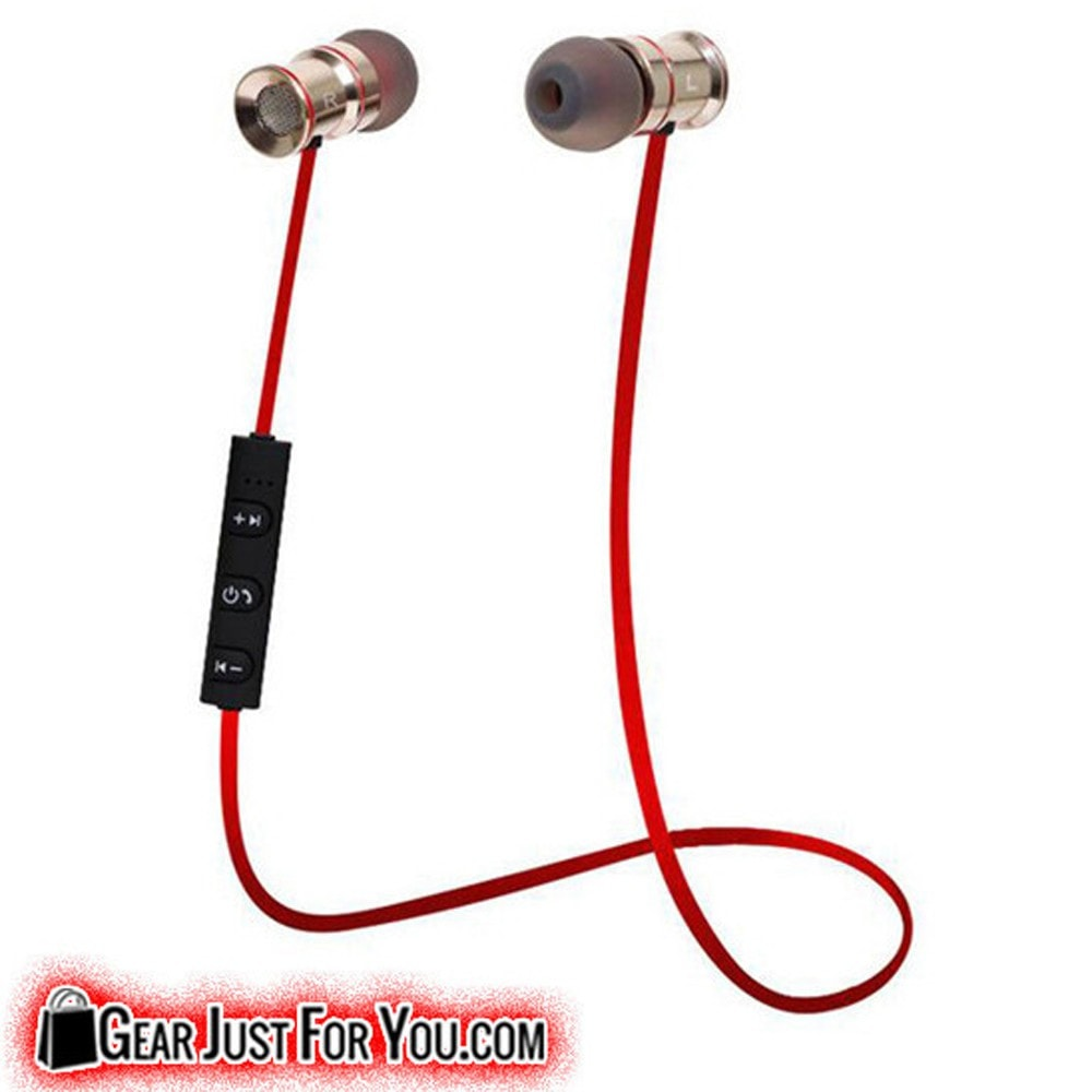 Bluetooth Wireless Stereo Headset Earphone for Samsung/iPhone/LG - Gear Just For You.com