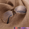 Image of Stylish Unisex Transparent Pilot Rimmed UV Protective Optical Sunglasses - Gear Just For You.com