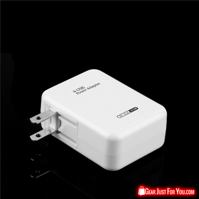 4 Slot USB Port Adapter Portable Wall Charger for iPhone Samsung Android MP3 GPS - Gear Just For You.com