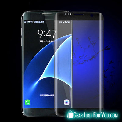 9H Full Tempered Screen Glass Protector For Samsung Galaxy S7 Edge - Gear Just For You.com