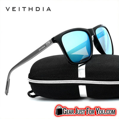 New Aluminium Polarized Retro Veithdia Sunglasses - Gear Just For You.com