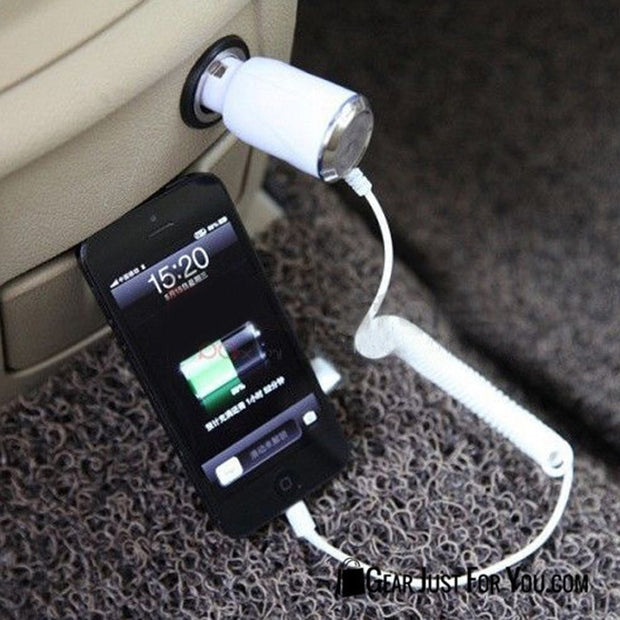 Fast Charging Car Charger for Apple iPhone