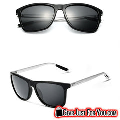 New Aluminium Polarized Retro Veithdia Sunglasses