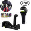 Durable 2-in-1 Car Head Rest Hook with Phone Holder
