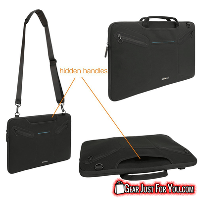 Highly Secure Multi Purpose Cross Body Laptop Messenger Bag