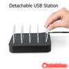 Best Multi Port WinTech Detachable Universal USB Desktop Charging Station for 2016 - Gear Just For You.com