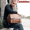 Most Amazing Vintage leather Briefcase Messenger Laptop Bag - Gear Just For You.com