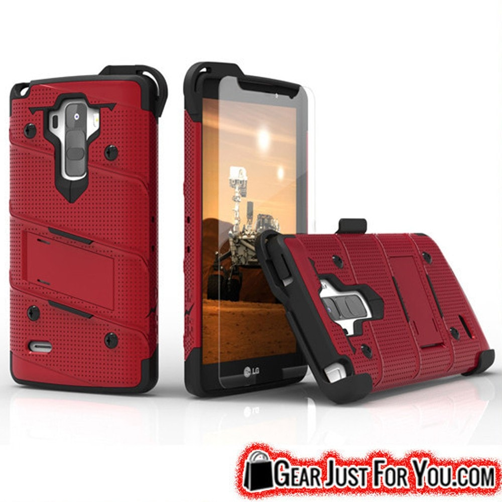 Hybrid Shockproof Armor Kickstand Case Cover For LG G Stylo LS770 / G4 Note Stylus - Gear Just For You.com