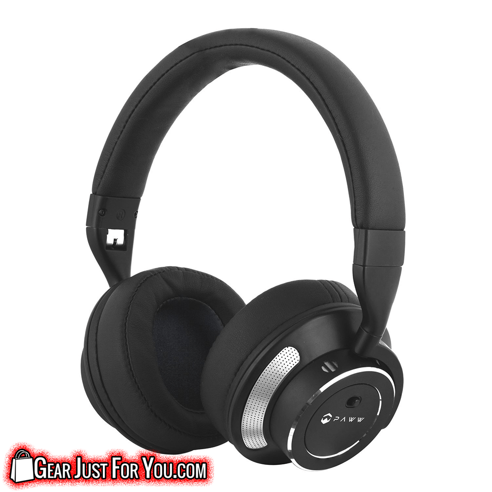 BEST 2016 Bluetooth Active Noise Cancelling Headphones with Airplane Adapter, Cable & Carrying Case! - Gear Just For You.com