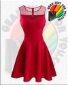 Beautiful Women Round Neck Special Occasion Casual Dress - Gear Just For You.com