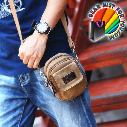 Multifunctional Harmless Cotton Made Vintage Messenger Cross Body Bag - Gear Just For You.com