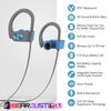 Amazing Stereo Sound Sports Wireless Bluetooth Earphones