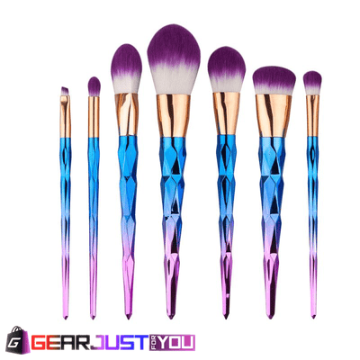 Gorgeous Women's Unicorn Spiral Handle Cosmetics Toolset