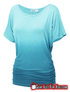 Ultra Comfortable Beautiful Print Short Sleeve Round Neck Tops - Gear Just For You.com