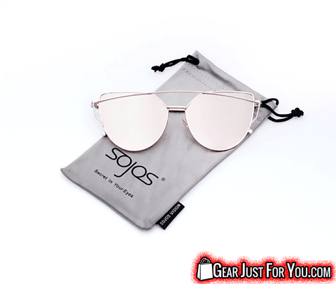 HARMFUL Ray Protected KOREAN Cat's Eye Design Fashionable Female Eye Wear