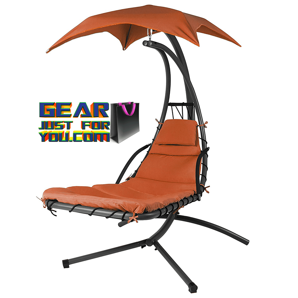 Comfortable Hanging Chaise Lounger Canopy Chair