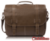 Premium Professional Flap over Faux Leather Laptop Messenger Bag - Gear Just For You.com