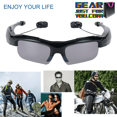 Ultimate FREEDOM Stereo Wireless Sports Bluetooth Headset Sunglass - Gear Just For You.com