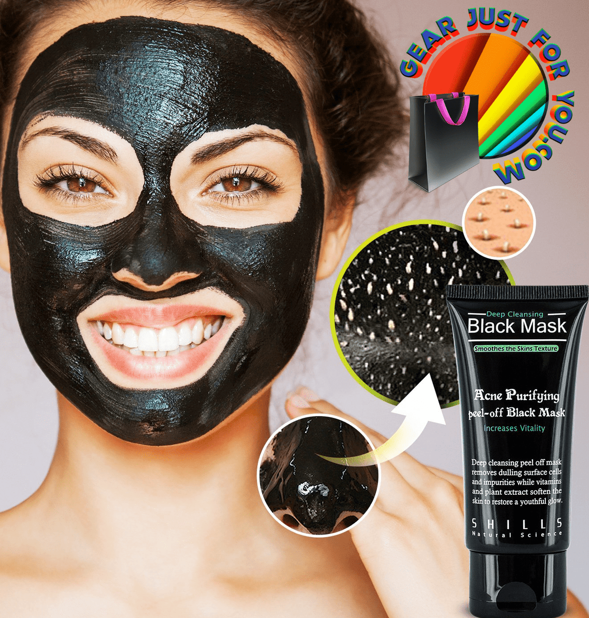 Amazing Blackhead Removal Deep Cleaning Face Mask It's ... - photo#35