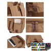 Highly Durable Waterproof Thick Liner Attached Large Canvas Camera Backpack