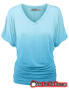 Ultra Comfortable Beautiful Print Short Sleeve V-Neck Tops - Gear Just For You.com