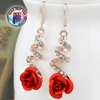 Superior Style Crystal Temperment Dangle Drop Ear Rings - Gear Just For You.com