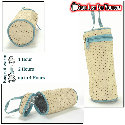 Impressive DURABILITY Water Resist HEAVY-DUTY 5 Pieces Baby Organizer Bag - Gear Just For You.com