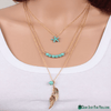 Elegant & trendy Fashion Charm Jewelry Crystal Pendant Chain Necklace 4 - Gear Just For You.com