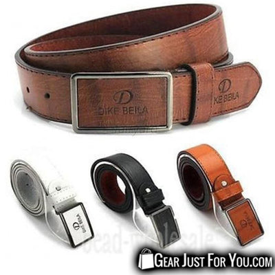Casual Luxury Leather Automatic Buckle Belt Waist Strap For Men - Gear Just For You.com
