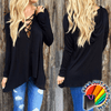 Super Sexy Long Sleeve Loose Perfect Fit Casual Cotton Blouse Tops T-Shirt - Gear Just For You.com