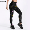 Women Leggings Black Cats Printed - Fitness Style