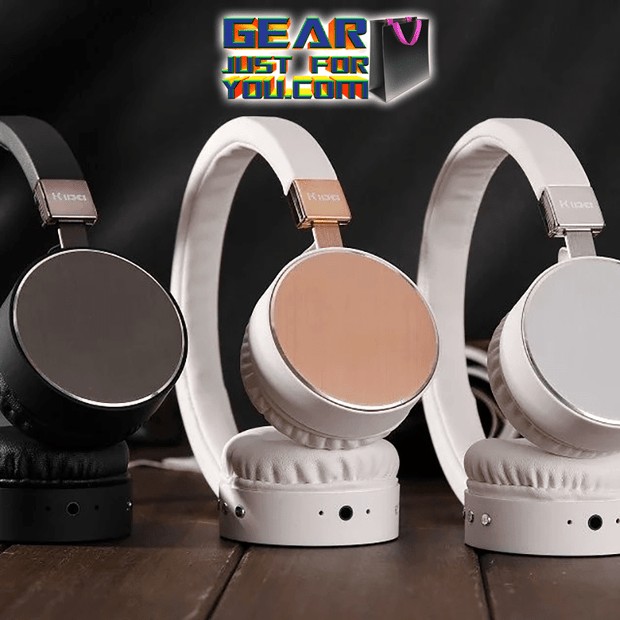 Beautiful Texture Metal Sheen Silver Diamond Edge Polish LEATHER WEAR Comfort Long Life Headset - Gear Just For You.com
