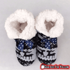 Unisex Lovely Plush Lining Reindeer Pattern EVA Sole Winter Warm Indoor Cotton Slippers - Gear Just For You.com