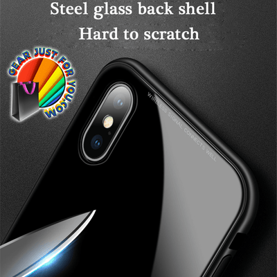 Creative Magnetic iPhone Metal Case Shell