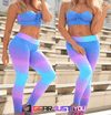Sexy Women's Sports Workout Print Leggings Pants