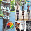 Sexy Reindeer Striped Knitted Women's Skinny Winter Warm Leggings Pants - Gear Just For You.com