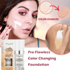 Flawless Color Changing Foundation One Shade Blends To Your Exact Skin Tone