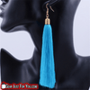 Unique Crystal Decorated Charming Colorful Long Tassel Earring - Gear Just For You.com