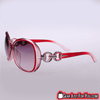 Image of Stylish Women's Cat's Eye Mirrored Retro Textured Gradient Color Sunglasses - Gear Just For You.com