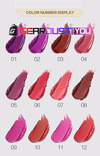 Luxurious 12 Shades Moisturizing Long-lasting Matte Velvet Liquid Lipstick