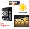 Super-Efficient Solar Power Waterproof Durable Outdoor LED Wall Lamp