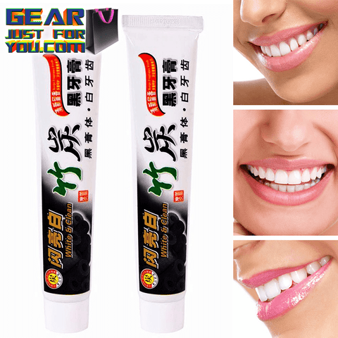 Totally Works Whitening BAMBOO CHARCOAL TEETH WHITENER TOOTHPASTE - ALL NATURAL - Gear Just For You.com