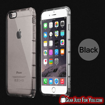 High-Quality Anti Shockproof TPU Soft Transparent iPhone Case Cover