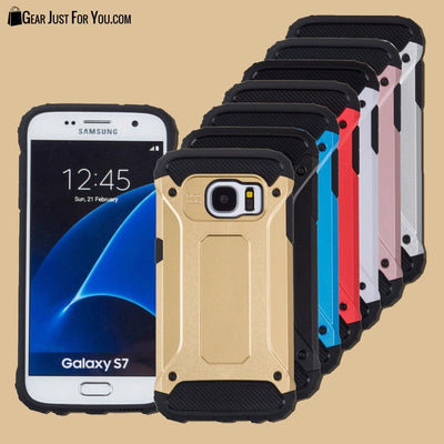 Brand New Shockproof Dual Layer Back Cover Case For Samsung - Gear Just For You.com
