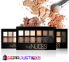 Gorgeous Long Lasting Smoky Glittering Matte Color Eye Shadow Makeup Palette