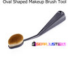BEST Multipurpose Makeup Base Cosmetics Oval Makeup Brush Tools for 2017 - Gear Just For You.com